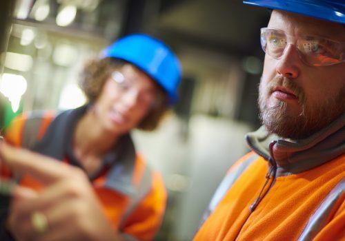 Technician Conducting Boiler Services in IL